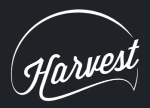 Harvest logo noir et blanc