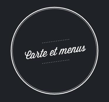 Carte et menus
