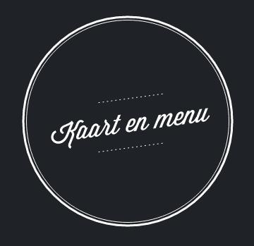 Carte et menu NL