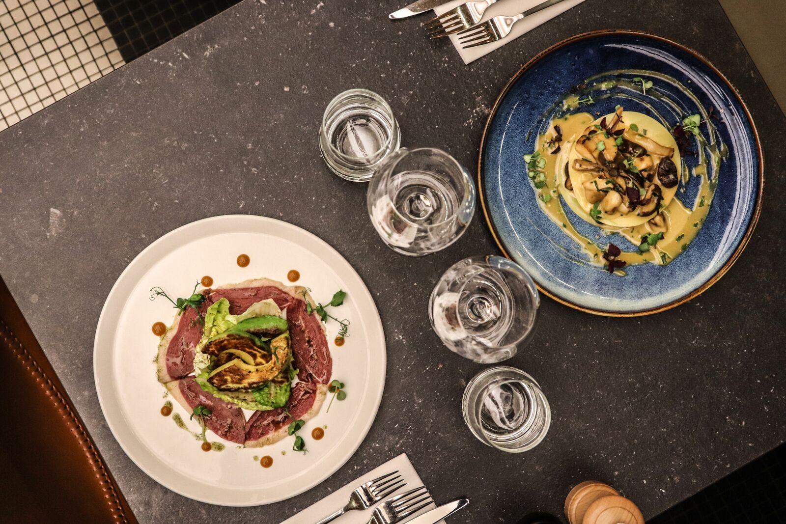 Restaurant business diner Brussel